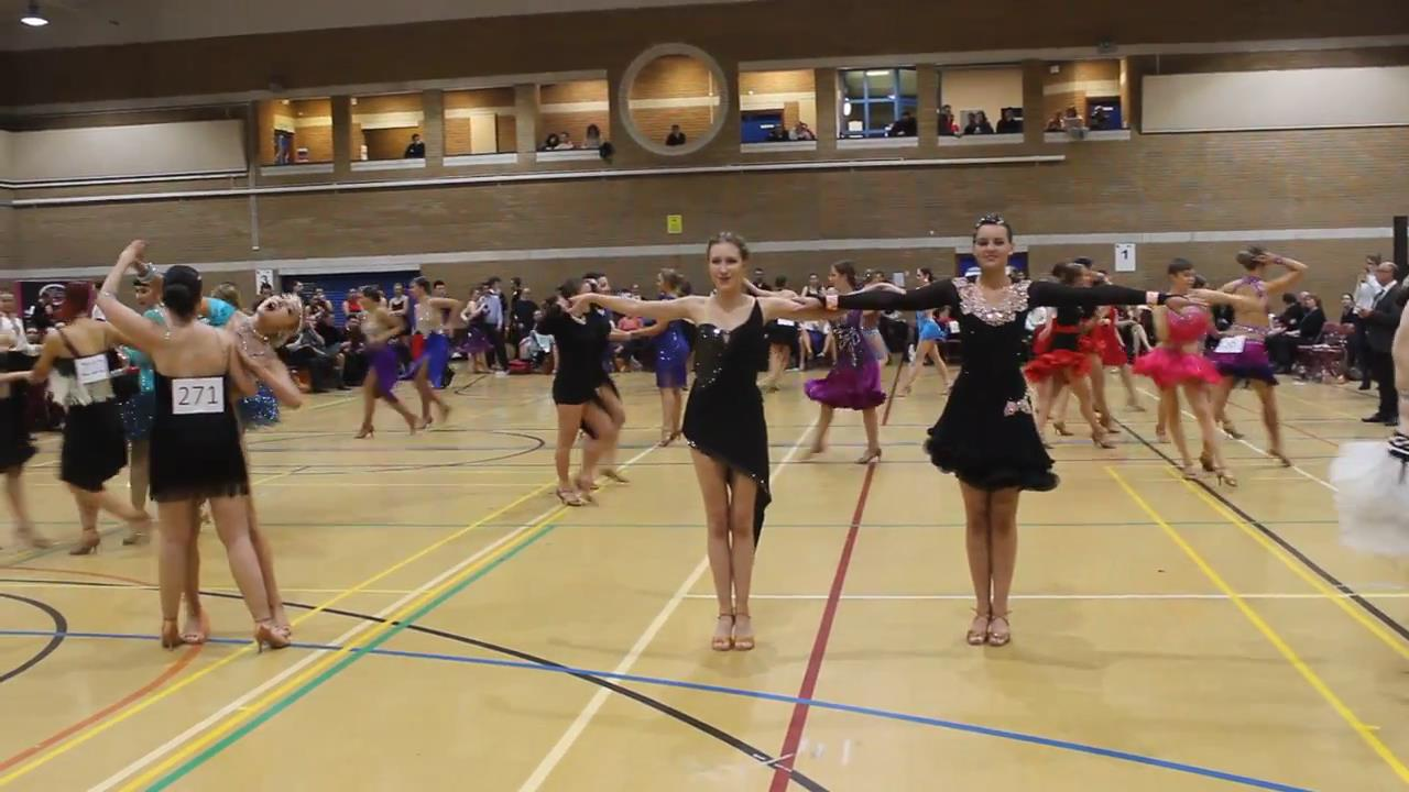 チャチャチャ|女性同士|社交ダンス| 競技会