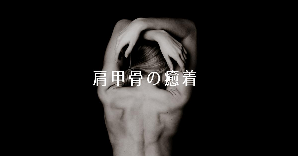 肩甲骨|筋膜|癒着|筋膜剥がし|社交ダンス