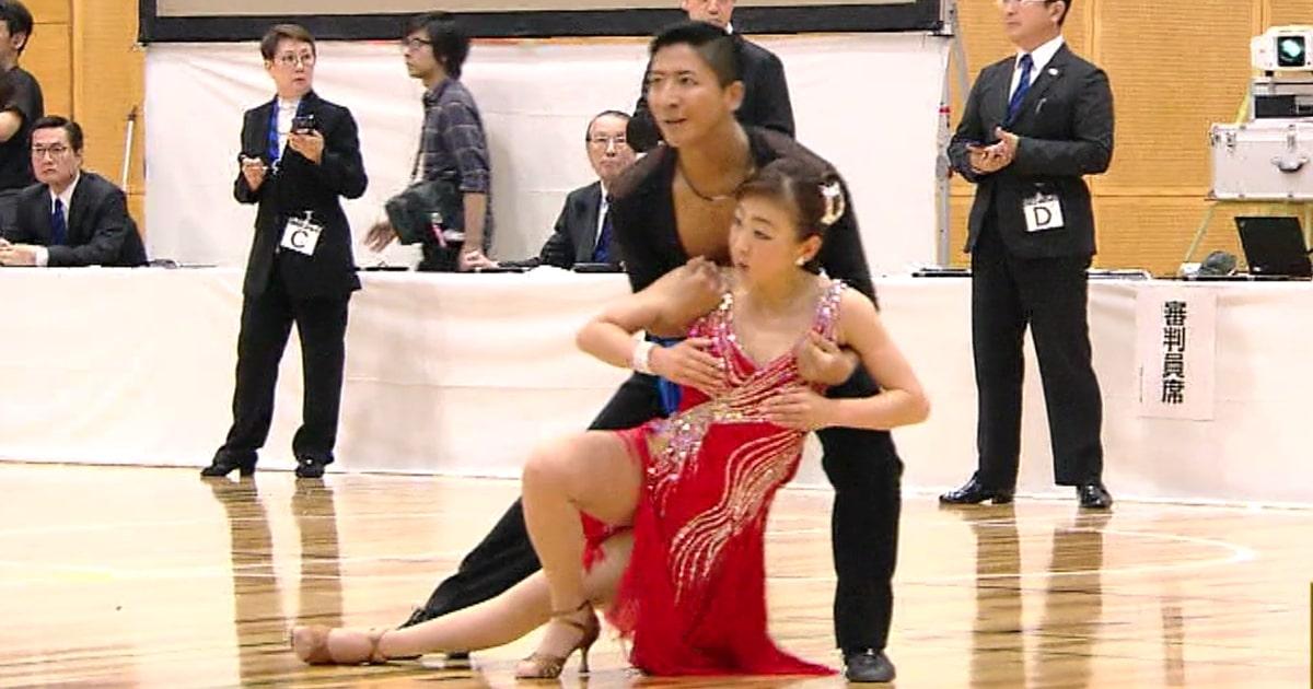 金スマ|村主章枝|社交ダンス|シニアⅠラテン日本代表|ロペス