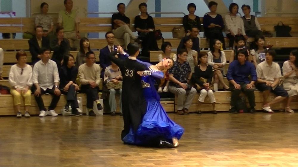新井洸樹|C級プロスタンダード|決勝|後楽園ホール|EJBDF|社交ダンス