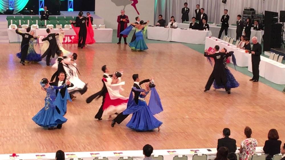 2018|日本インター|社交ダンス|新井洸樹|ワルツ