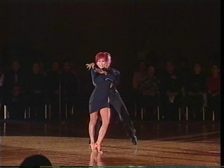 新田アキ|チャチャチャ|デモンストレーション|社交ダンス