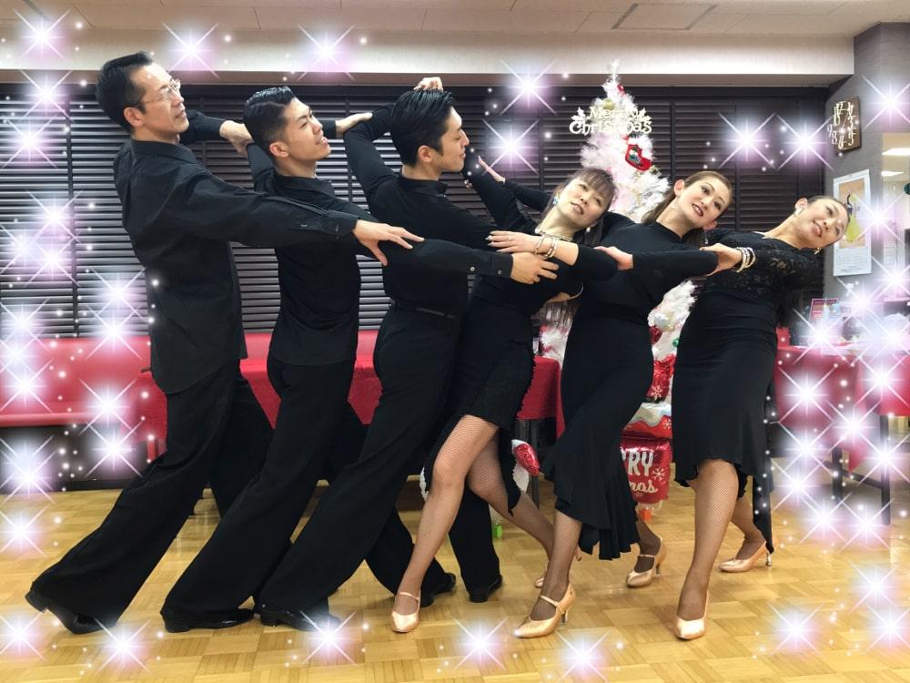 埼玉県|春日部市|社交ダンス|クリスマス|パーティー