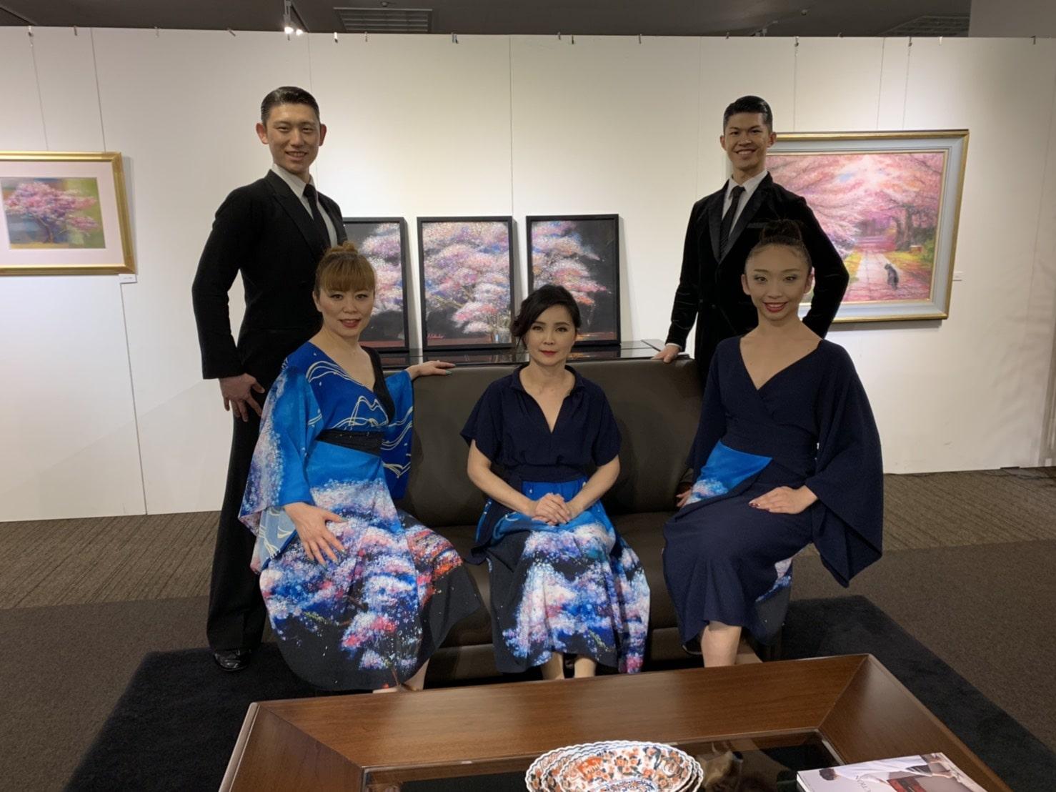 匠大塚|絵画展|春日部|社交ダンス|ショー